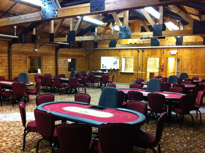 the poker room I think the poker room is great the dealers and the wait staff are super friendly and nicethe place is clean and the food is excellent and reasonably pricedthe games are affordable and there is decent playit's definitely worth your while to come up for the evening.